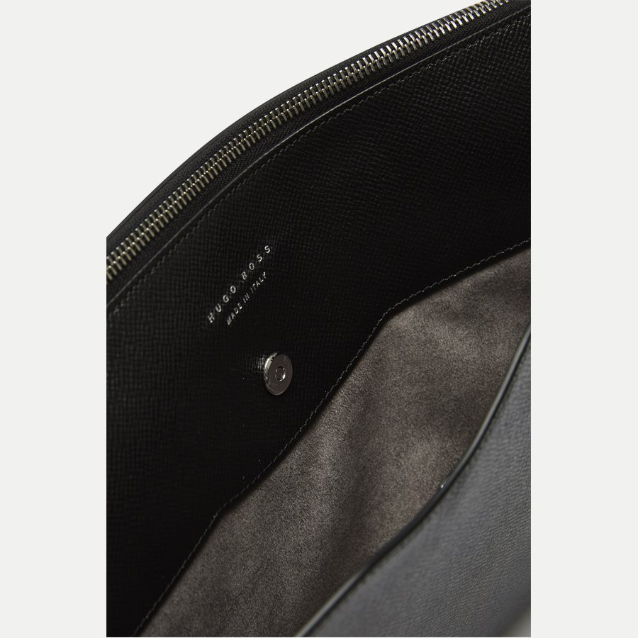 50311836 SIGNATURE_PORTFOLIO - Signature Portfolio Leather Sleeve - Accessories - SORT - 4