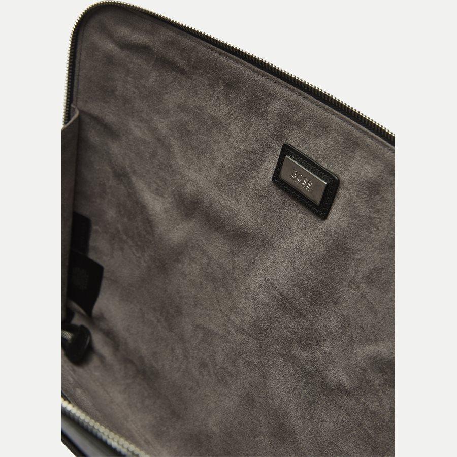 50311836 SIGNATURE_PORTFOLIO - Signature Portfolio Leather Sleeve - Accessories - SORT - 5