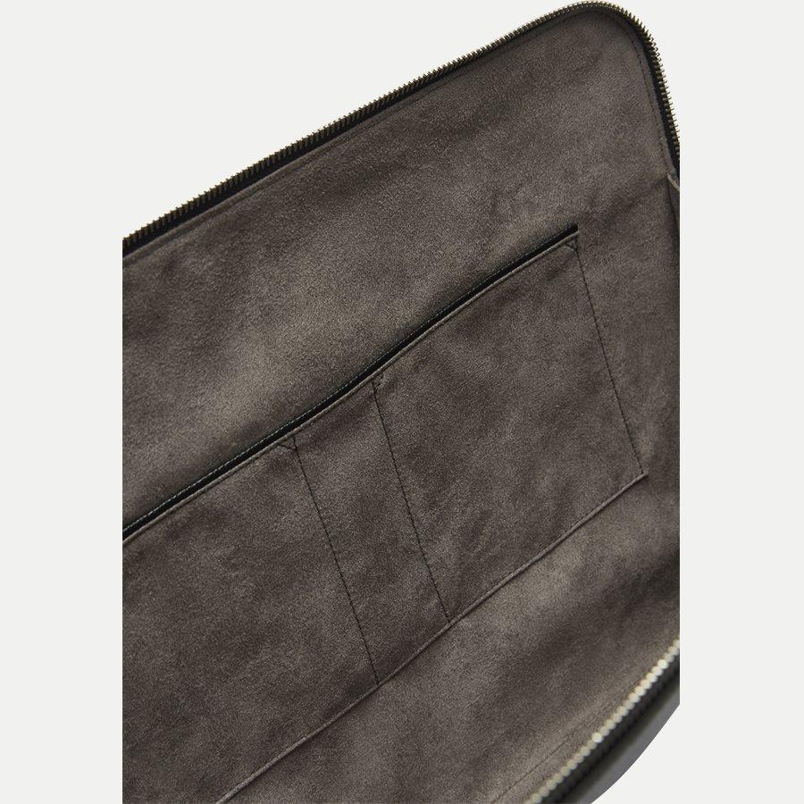 50311836 SIGNATURE_PORTFOLIO - Signature Portfolio Leather Sleeve - Accessories - SORT - 6