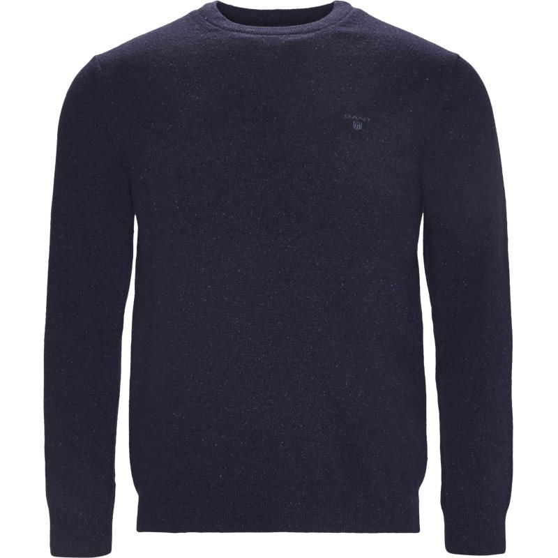 Image of   Gant - Donegal Tweed Crew Neck Sweater