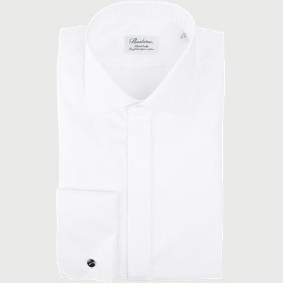 Dobbelt Manchet Skjorte Dobbelt Manchet Skjorte | Hvid