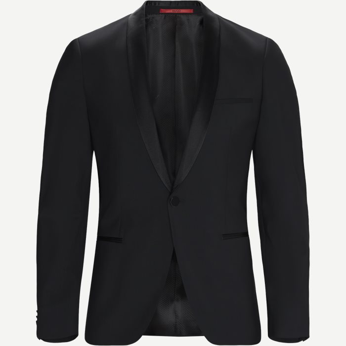 Alstons Smoking Jakke - Blazer - Slim - Sort