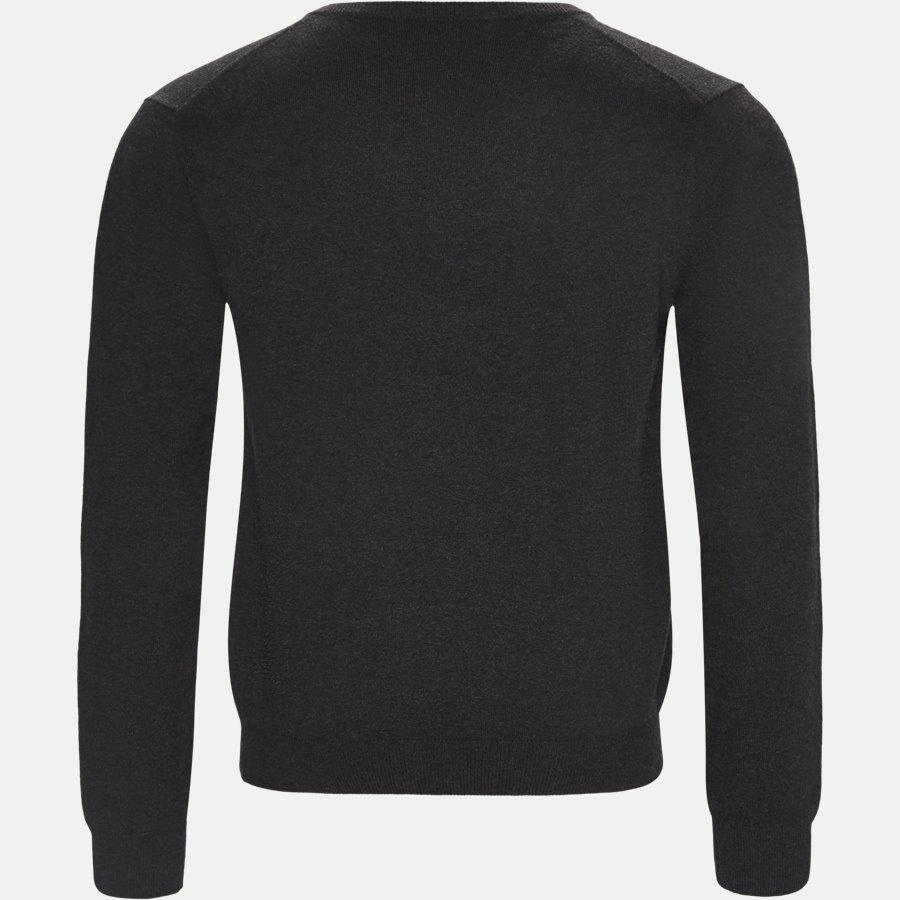 83102 V-NECK - Cotton Wool Blend V-Neck Jumper - Strik - Regular - KOKS - 2