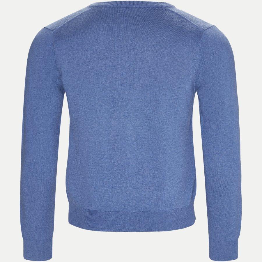 83102 V-NECK - Cotton Wool Blend V-Neck Jumper - Strik - Regular - LYSBLÅ - 2
