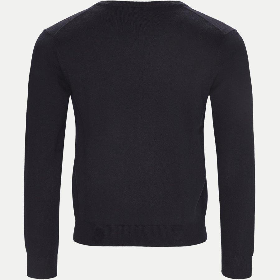 83102 V-NECK - Cotton Wool Blend V-Neck Jumper - Strik - Regular - NAVY - 2