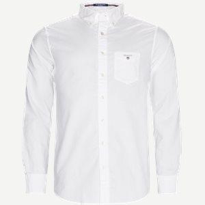 Button-down Oxford Skjorte Regular | Button-down Oxford Skjorte | Hvid