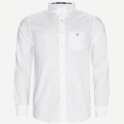 Button-down Oxford Skjorte Regular | Button-down Oxford Skjorte | Hvid