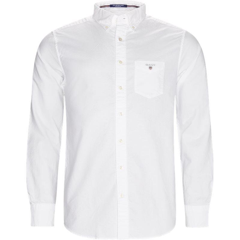 Gant - button-down oxford skjorte fra gant på kaufmann.dk