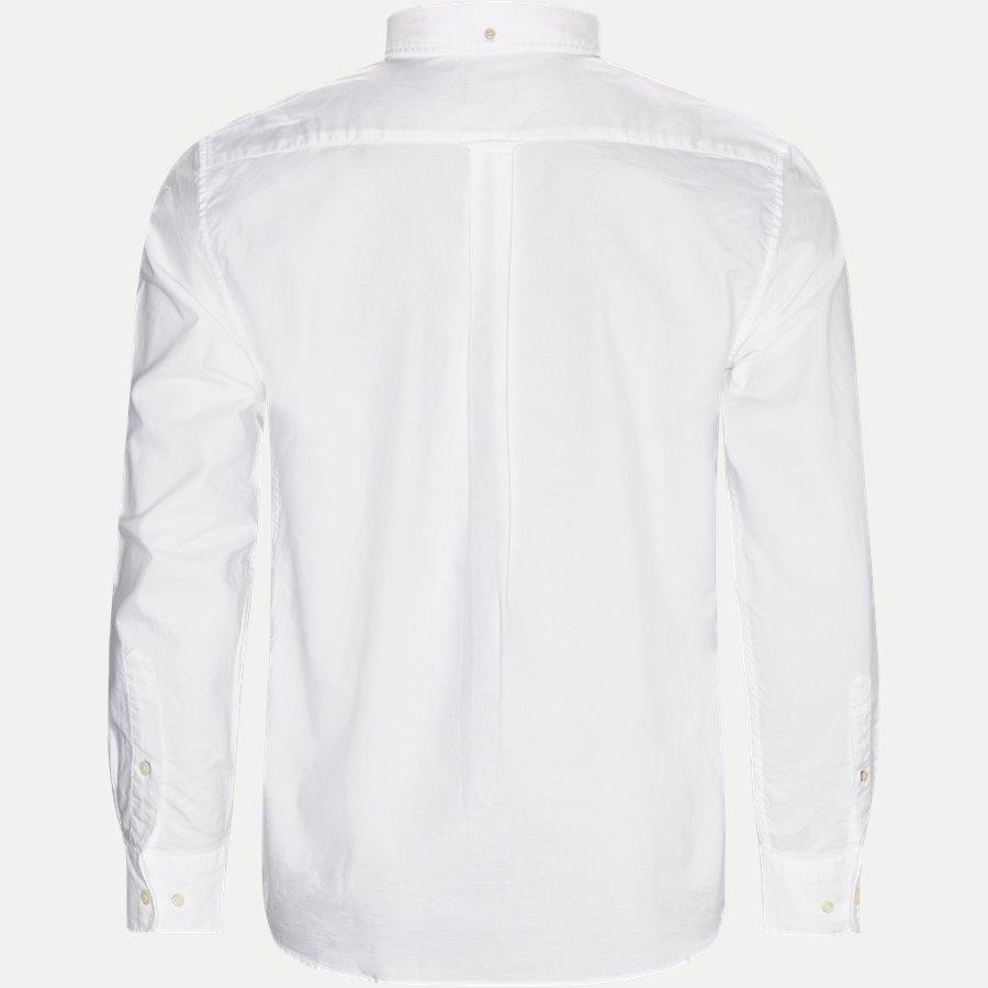 371000 OXFORD - Button-down Oxford Skjorte - Skjorter - Regular - HVID - 2