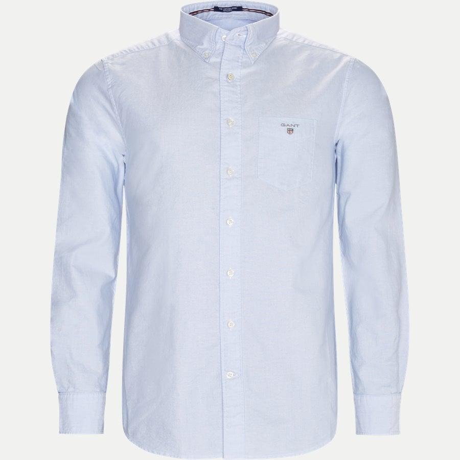 371000 OXFORD - Button-down Oxford Skjorte - Skjorter - Regular - LYSBLÅ - 1