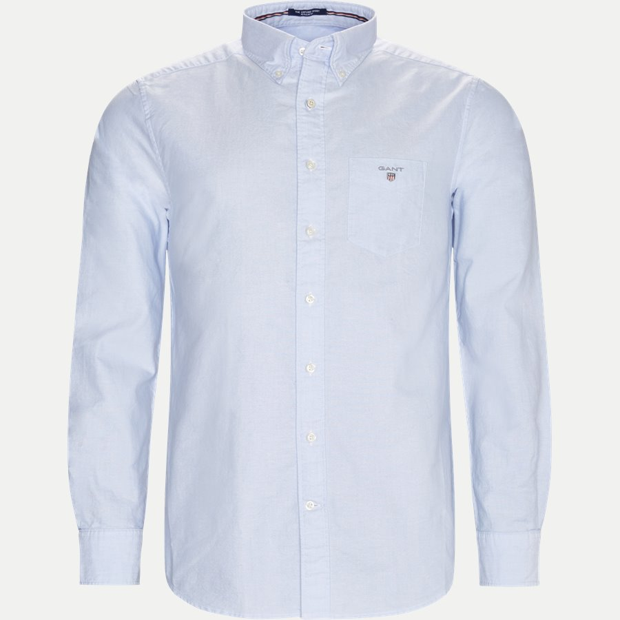 371000 OXFORD - Button-down Oxford Skjorte - Skjorter - Regular - LYSBLÅ - 1