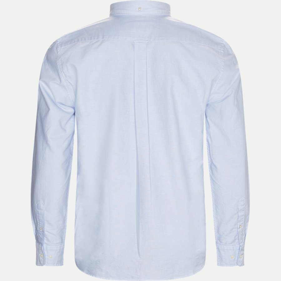 371000 OXFORD - Button-down Oxford Skjorte - Skjorter - Regular - LYSBLÅ - 2