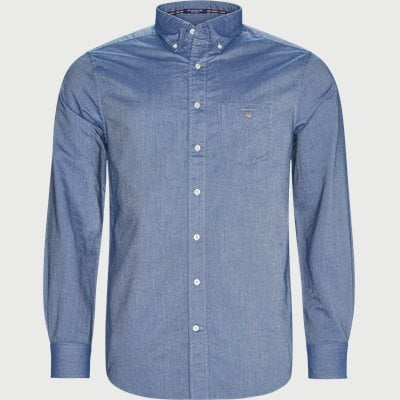 Button-down Oxford Skjorte Regular | Button-down Oxford Skjorte | Blå