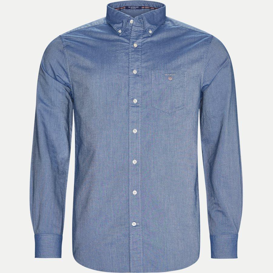 371000 OXFORD - Button-down Oxford Skjorte - Skjorter - Regular - NAVY - 1