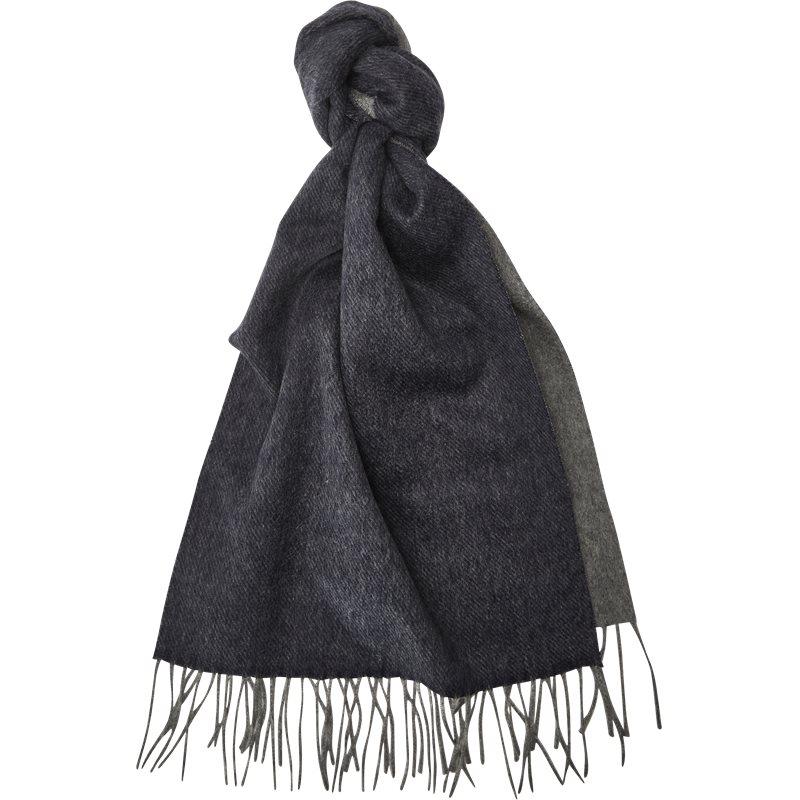 lanvin – Lanvin 5000 n halstørklæde blå/grå fra axel.dk