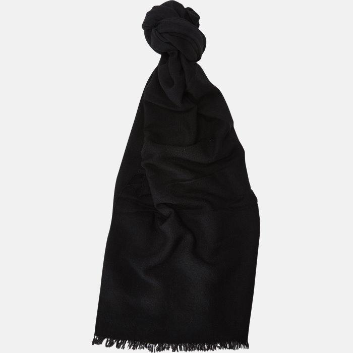 5043 tørklæde - Tørklæder - Sort