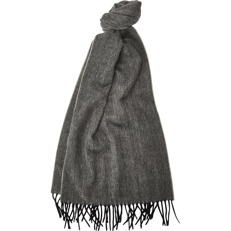 lanvin Lanvin 5050 n halstørklæde grey på axel.dk