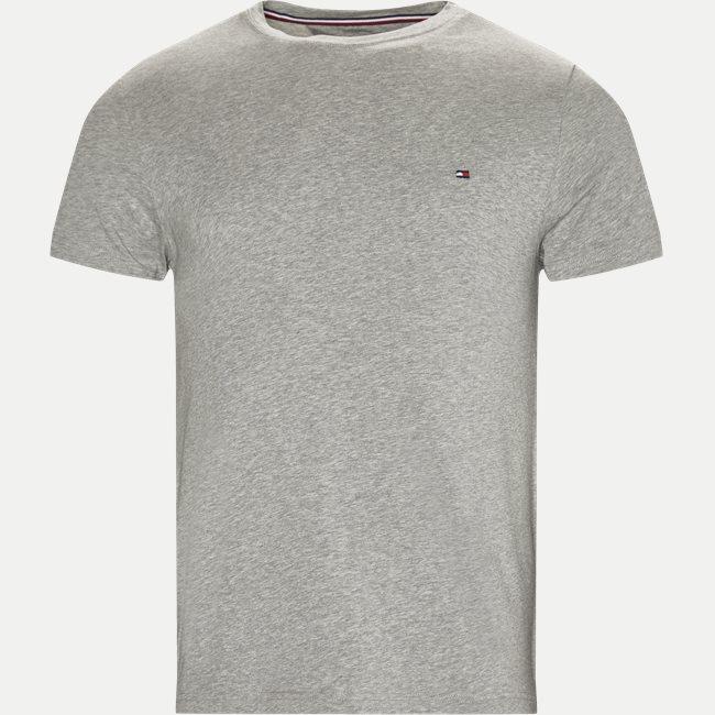 New Stretch C-neck T-shirt