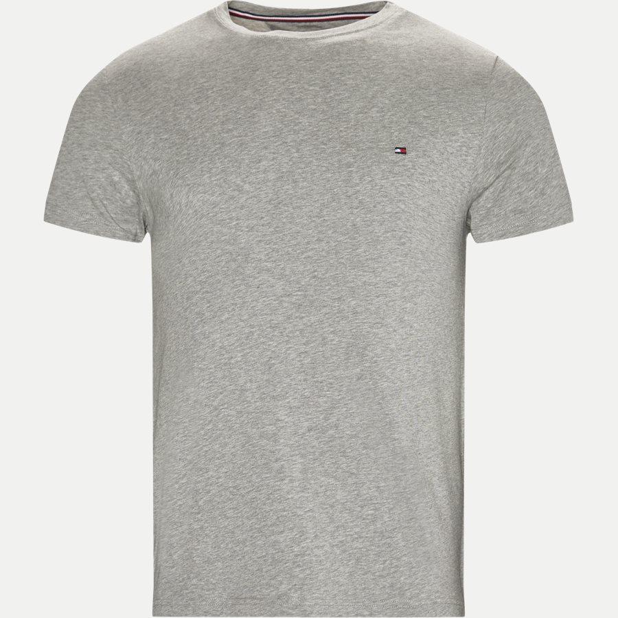 skutečná kvalita oficiální obchod různé provedení Slim | NEW STRETCH C-NK TEE | T-shirts | GRÅ