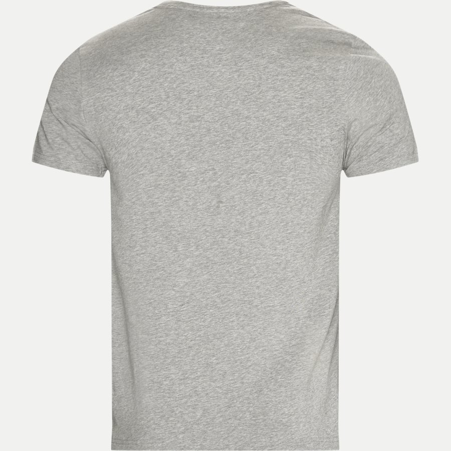 NEW STRETCH C-NK TEE - New Stretch C-neck T-shirt - T-shirts - Slim - GRÅ - 2