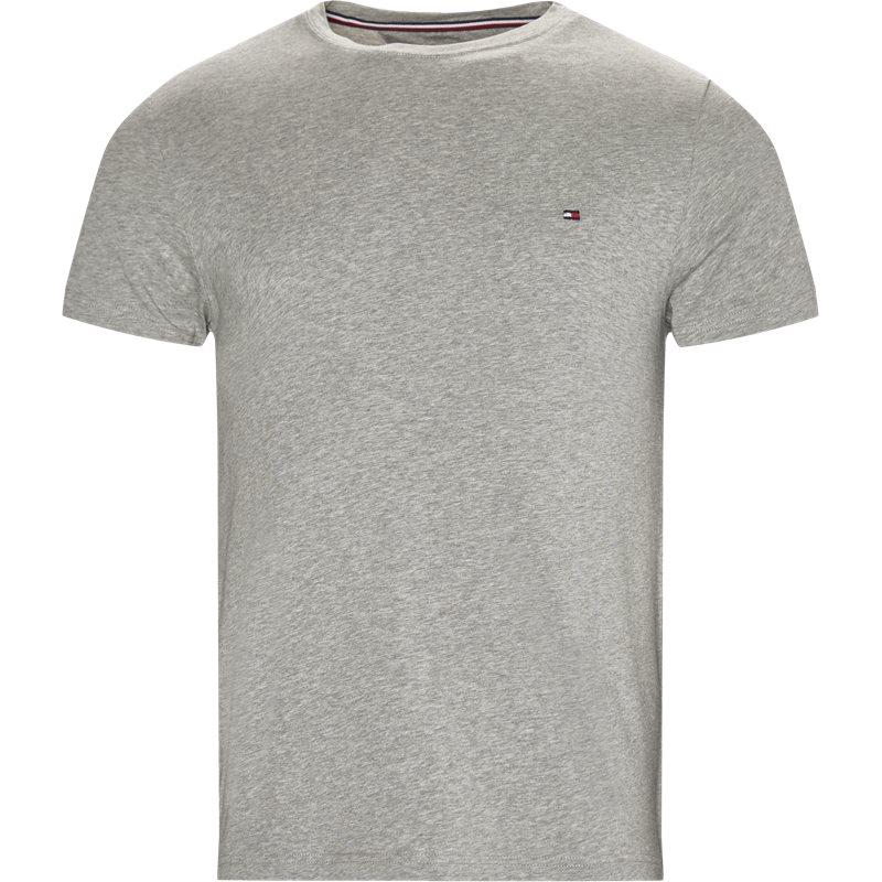 Se Tommy Hilfiger - New Stretch C-neck T-shirt ved Kaufmann