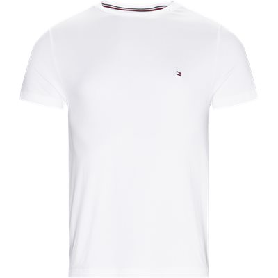 New Stretch C-neck T-shirt Slim | New Stretch C-neck T-shirt | Hvid