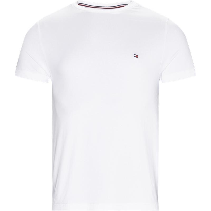 Tommy hilfiger - new stretch c-neck t-shirt fra tommy hilfiger på kaufmann.dk