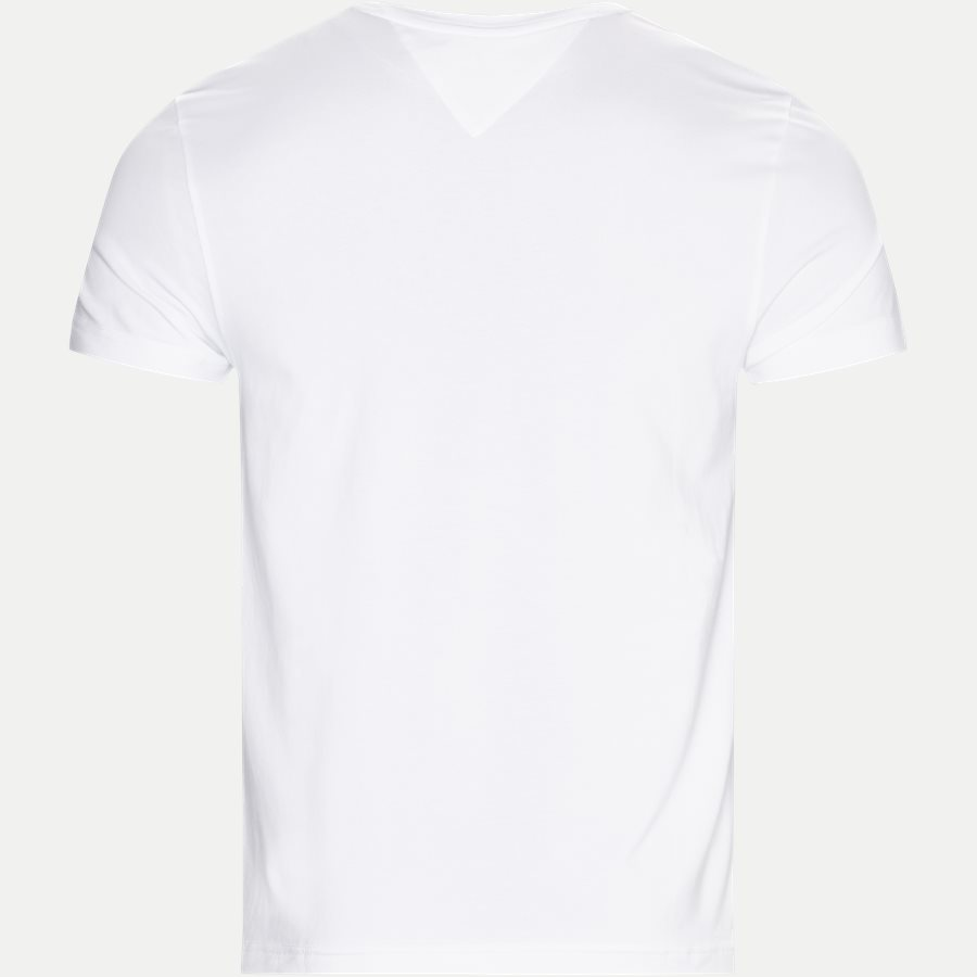 NEW STRETCH C-NK TEE - New Stretch C-neck T-shirt - T-shirts - Slim - HVID - 2