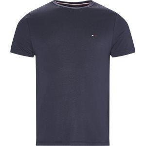 New Stretch C-neck T-shirt Slim | New Stretch C-neck T-shirt | Blå