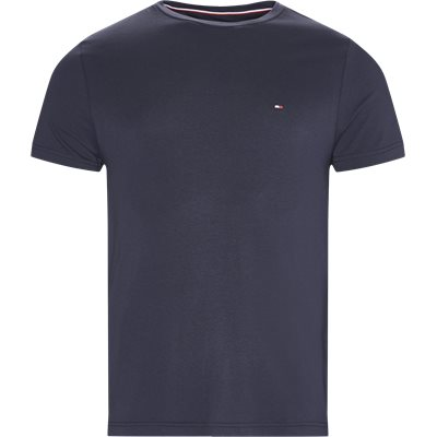 New Stretch C-neck T-shirt Slim | New Stretch C-neck T-shirt | Blå