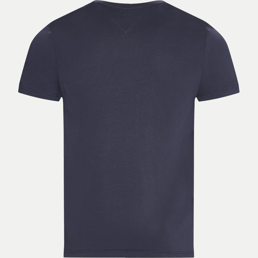 NEW STRETCH C-NK TEE - New Stretch C-neck T-shirt - T-shirts - Slim - NAVY - 2