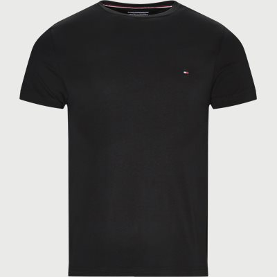 New Stretch C-neck T-shirt Slim | New Stretch C-neck T-shirt | Sort