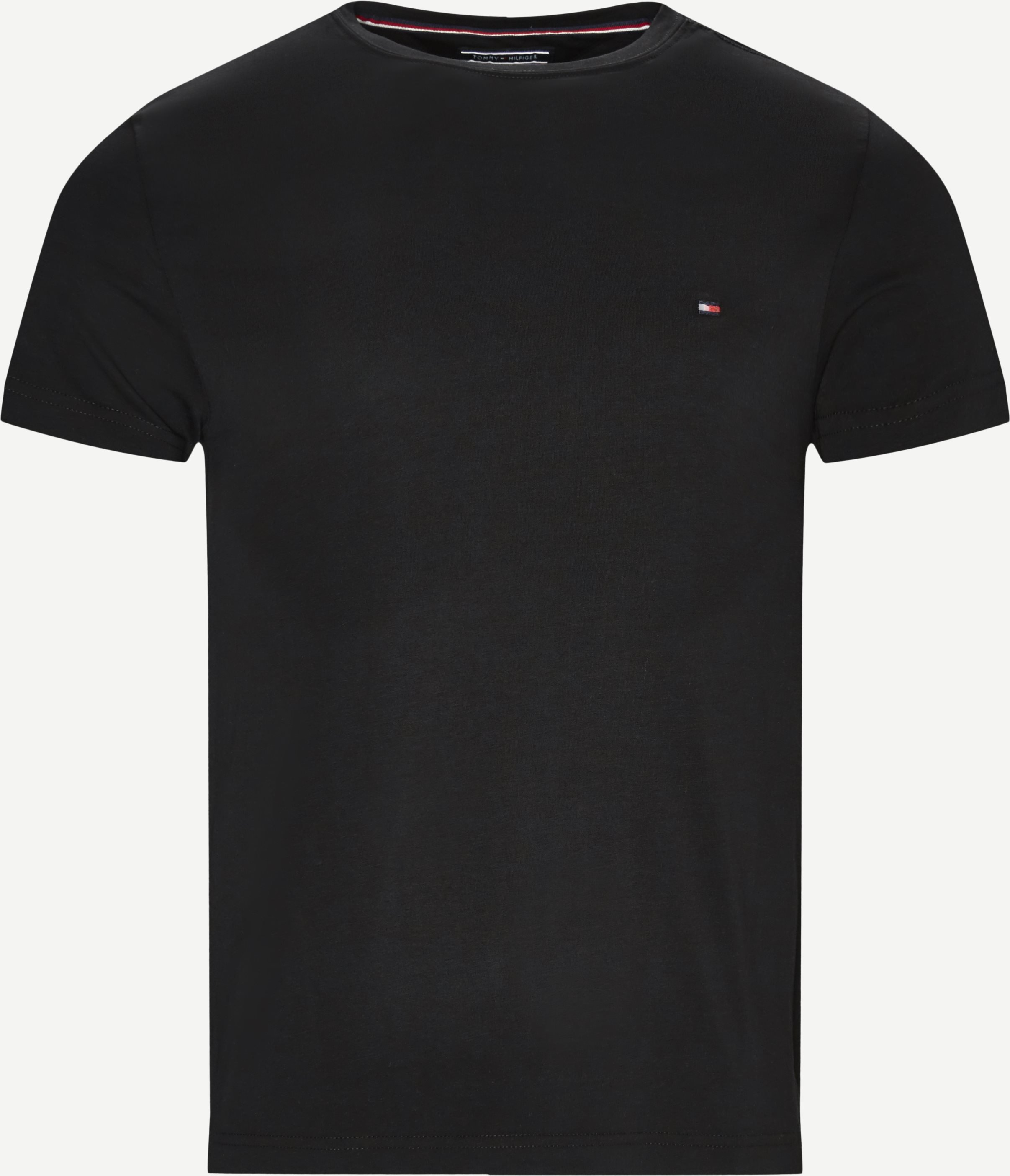T-shirts - Slim - Black
