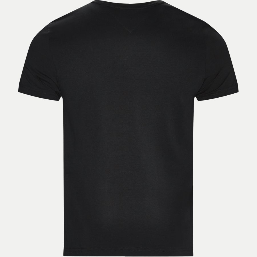 NEW STRETCH C-NK TEE - T-shirts - Slim - SORT - 2