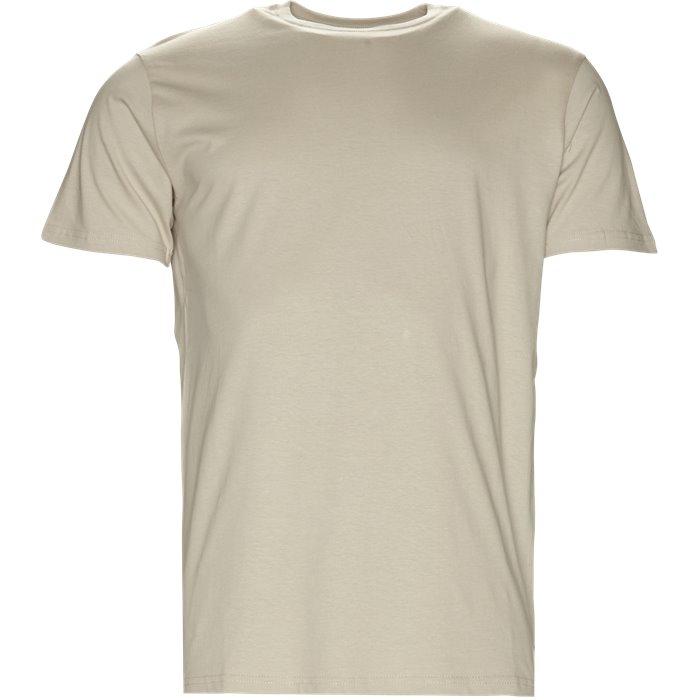 Ganger - T-shirts - Regular - Sand