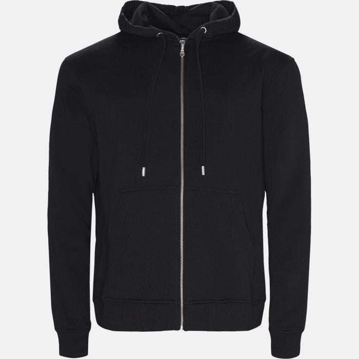 5BL722 sweatshirt - Sweatshirts - Regular slim fit - Sort