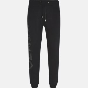 Regular slim fit | Trousers | Black