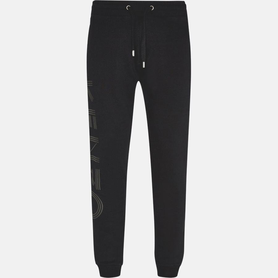 5PA716 - 5PA716 sweatpants  - Bukser - Regular slim fit - SORT - 1