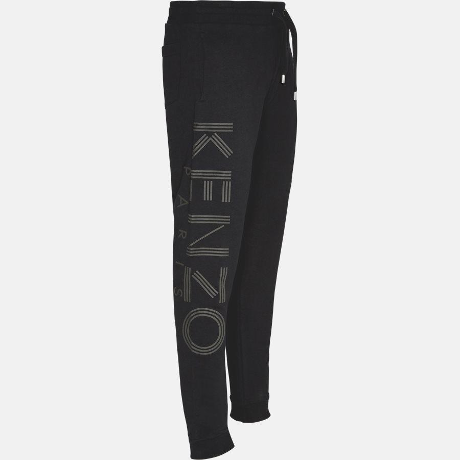 5PA716 - 5PA716 sweatpants  - Bukser - Regular slim fit - SORT - 4
