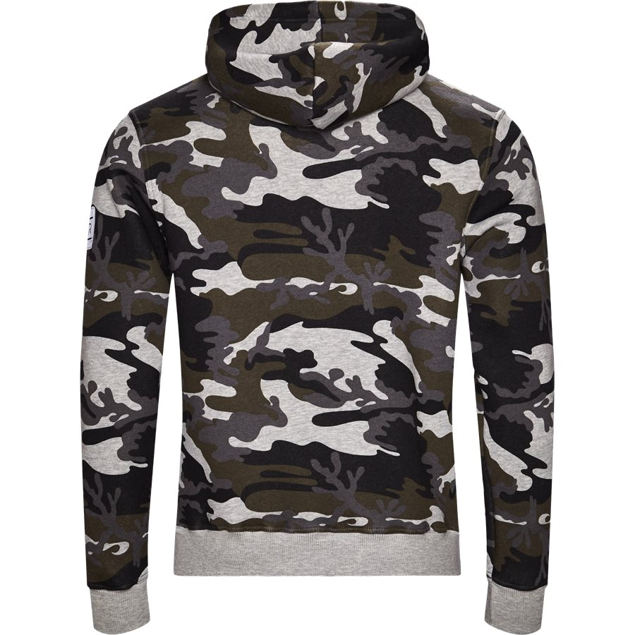 NANCY - Nancy Sweatshirt - Sweatshirts - Regular - GREY/CAMO - 2