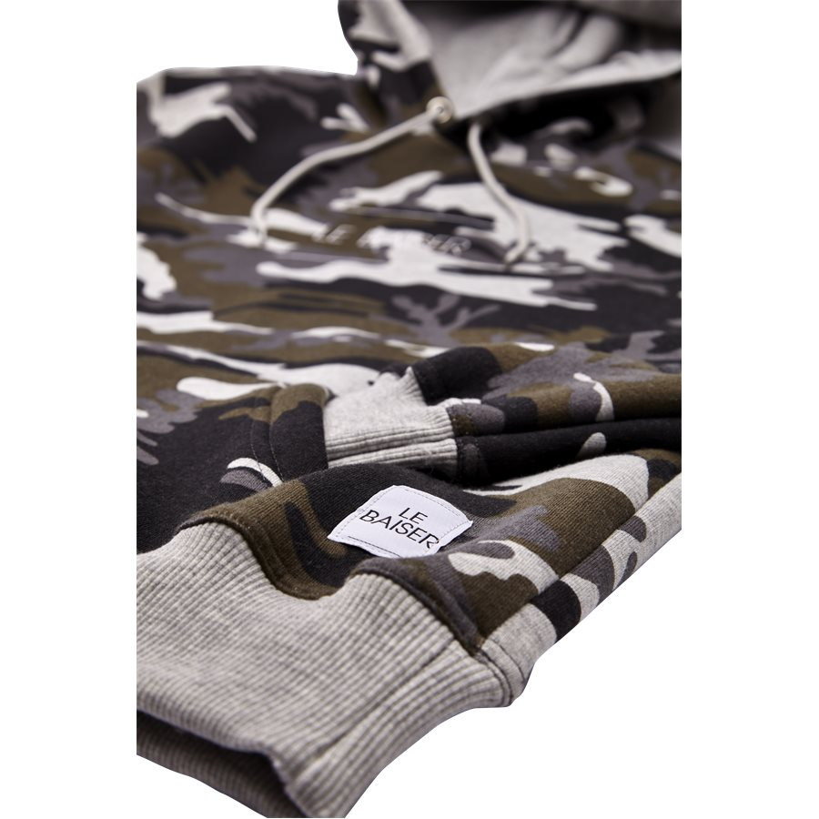 NANCY - Nancy Sweatshirt - Sweatshirts - Regular - GREY/CAMO - 4