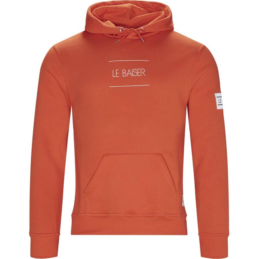 NANCY - Nancy Sweatshirt - Sweatshirts - Regular - ORANGE - 1