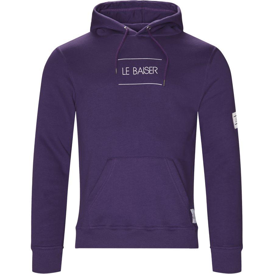 NANCY - Nancy Sweatshirt - Sweatshirts - Regular - PURPLE - 1