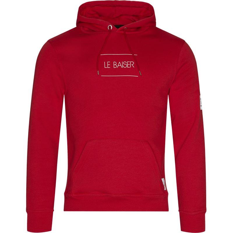 le baiser Le baiser nancy sweatshirt red fra quint.dk