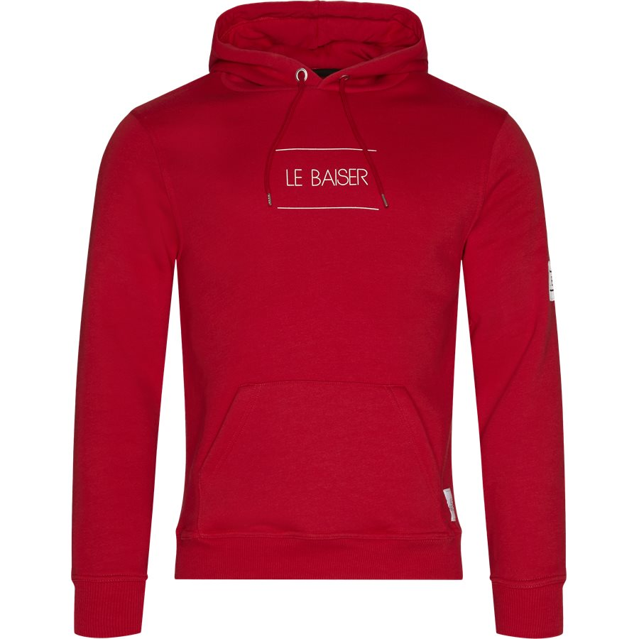 NANCY - Nancy Sweatshirt - Sweatshirts - Regular - RED - 1