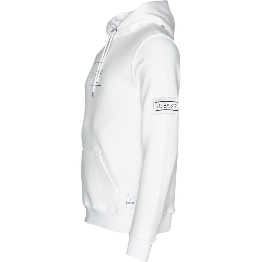NANCY - Nancy Sweatshirt - Sweatshirts - Regular - WHITE - 3