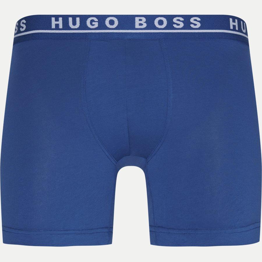 50325404 - 3-pak Long tights - Undertøj - Regular - BLÅ/SORT - 2