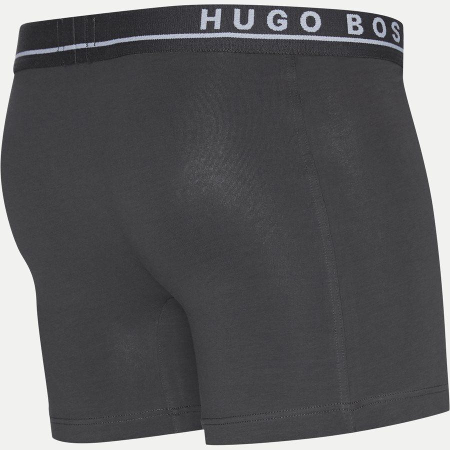 50325404 - 3-pak Long tights - Undertøj - Regular - BLÅ/SORT - 10