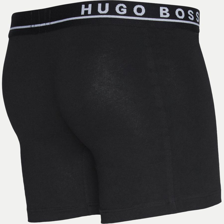50325404 - 3-pak Long tights - Undertøj - Regular - SORT/HVID/GRÅ - 4