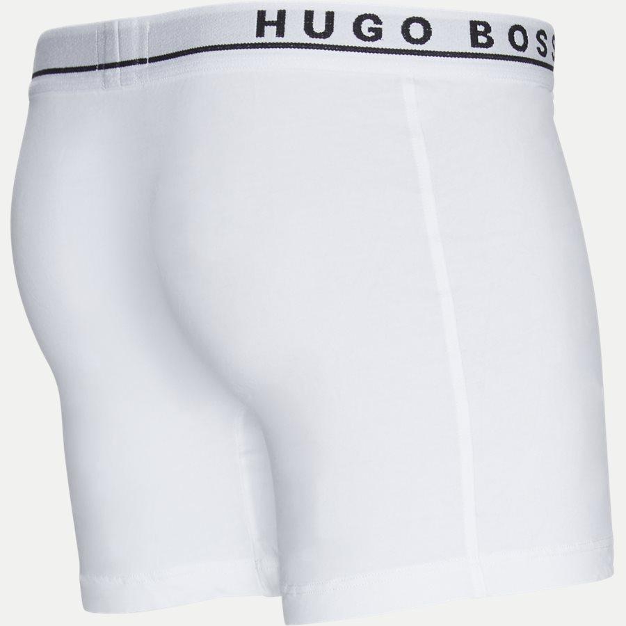 50325404 - 3-pak Long tights - Undertøj - Regular - SORT/HVID/GRÅ - 10